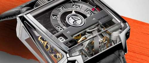 Часы Concept d'Exception Vortex от Hautlence