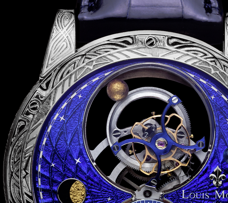 Space Mystery от Louis Moinet